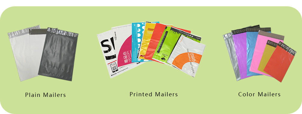 custom printed poly mailers bag
