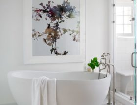 Artwork for bathroom
