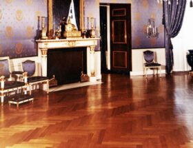 erringbone engineered wood flooring