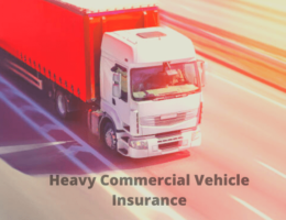 Heavy Commercial Vehicle Insurance